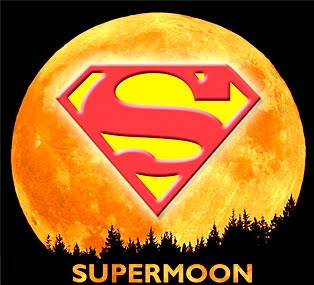 Super Moon Logo